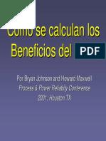 Calculo Benefl Predictivo CBM Metod