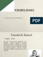 El Posibilismo y Regionalismo (1)