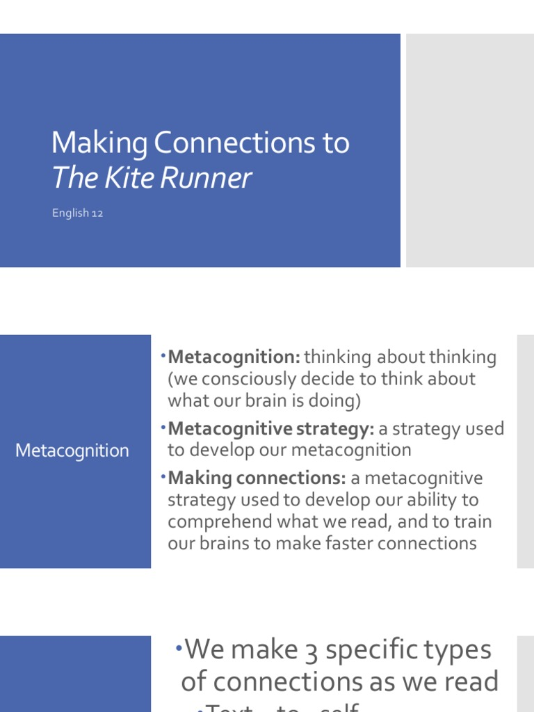 kite runner making connections weebly