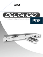 M-Audio Delta 1010 User Manual