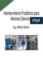 Mtto Predictivo Motores Electricos