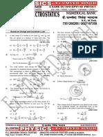 NUMERICAL BANK  OF ELECTROSTATICS FOR IIT PMT.pdf