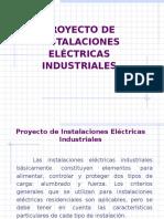 Proyecto de Instalaciones Eléctricas Industriales