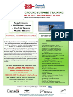 Line Crew Ground Support Training - April 24, 2017 - August 4, 2017