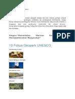 Draft Geopark Gunungsewu