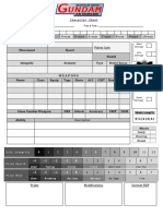 Editable Character Sheet
