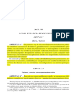 Ley 25.188 - Etica Publica