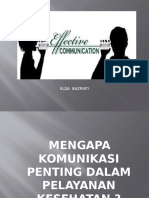 Komunikasi Efektif - Dr. Elda