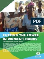 Putting the Power in Women's Hands