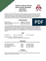 RLS Tuition Fees