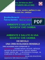 ROMA 26 Febbraio Ambiente e Salute