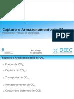 Captura e Armazenamento de CO2