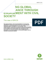 Improving Global Governance through Engagement with Civil Society