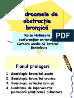 Sdr. obstructiei bronsice - med.interna, usmf 2017