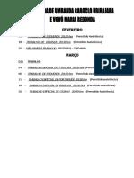 Agenda de 2017 - 1º Trim