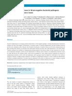 Acquired Carbapenemases in Gram-negative Bacterial Pathogens