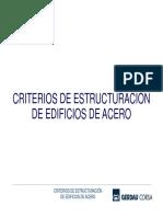 05 Criterios de Estructuración de Edificios de Acero