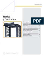 12 Racks y Gabinetes