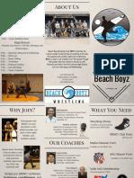 beach boyz wrestling brochure