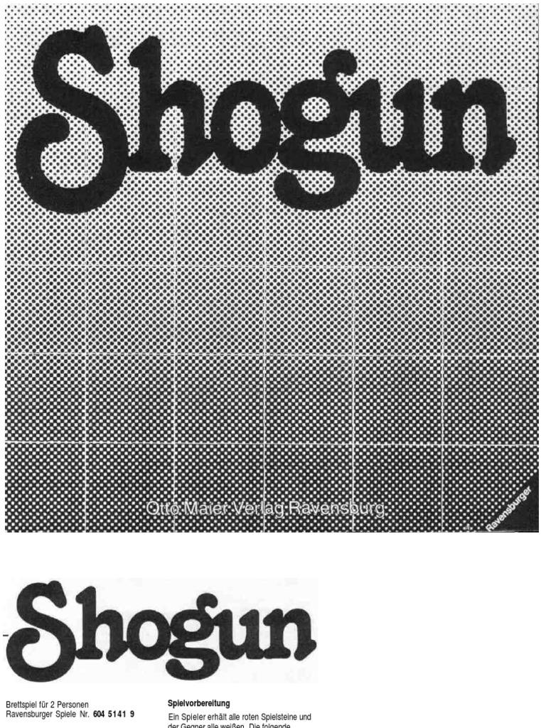 Shogun Ravensburger