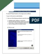 HP DP Backup Implementation