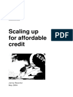 Scaling Up for Affordable Credit