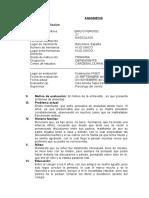 Anamnesis Ansiedad Internado Internado Final 1 Emilio Fergod