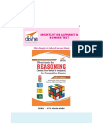 Disha Publication Shortcut on Alphabet and Number Test