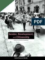 Gender, Development, and Citizenship