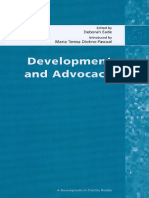 Development and Advocacy