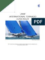 2008 International Tornado Class Rules