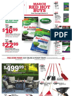 Seright's Ace Hardware March 2017 Red Hot Buys
