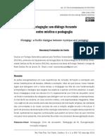 A MISTAGOGIA - Um Diálogo Fecundo Entre a Mística e a Pedagogia.