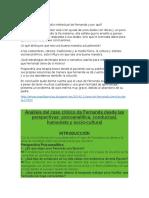 Qué Facilito El Desarrollo Intelectual de Fernanda y Por Qué