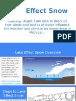 lake effect snow presentation
