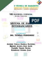 6. Sistema de Pagos Interbancarios