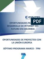 des Desarrollo Internet Del Futuro en Colombia