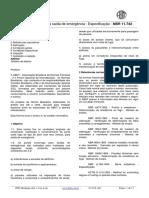 Porta Corta -Fogo Para Saída de Emergência - Especificação - NBR 11.742