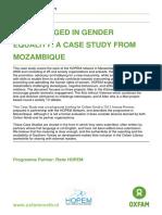 Men Engaged in Gender Equality