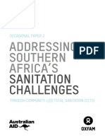 Addressing Southern Africa's Sanitation Challenges Through Community-Led Total Sanitation (CLTS)
