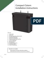 CompactCistern Installation