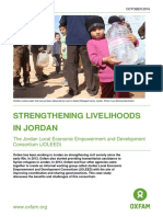 Strengthening Livelihoods in Jordan