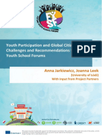 Youth Participation and Global Citizenship