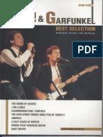 Simon & Garfunkel - Best Selection (Japan Band Score)