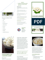 retail mkting wellness brochure cauliflowerrice