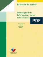 Tecnologia de La Informacion y de Las Telecomunicaciones Media Adultos