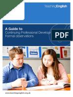 Observation Guides - Formal Observations Guide