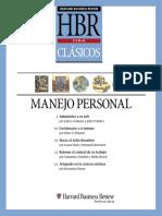 Clasicos HBR- Manejo Personal