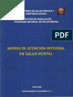 Norma Salud Mental