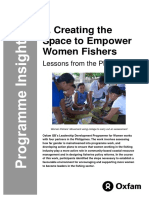 Creating the Space to Empower Women Fishers